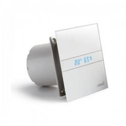 Wentylator łazienkowy (osiowy) Cata E-100, szklany panel