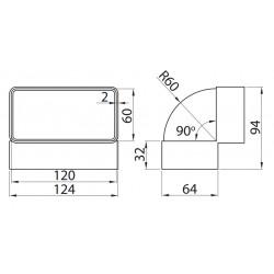 460 • Multivent • 120x60 mm • Vents • TANIA PROFESJONALNA WYSYŁKA