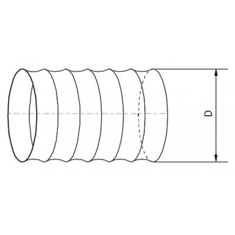 Kanał elastyczny PVC • Vents • TANIA PROFESJONALNA WYSYŁKA