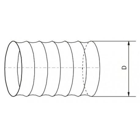 Kanał elastyczny PVC 563 • Vents • TANIA PROFESJONALNA WYSYŁKA