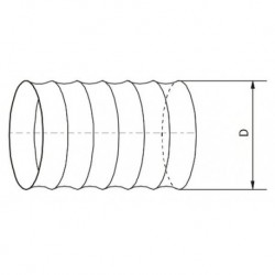 Kanał elastyczny PVC 663 • Vents • TANIA PROFESJONALNA WYSYŁKA