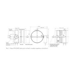 KTM-E 230v 125 (mufa) • klapa p.poż • PROFESJONALNA WYSYŁKA • BEZPIECZEŃSTWO ZAKUPÓW • INDYWIDUALNE RABATY W SKLEPIE • 690 91