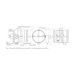 KTM-E 230v 160 (nypel) • klapa p.poż • PROFESJONALNA WYSYŁKA • BEZPIECZEŃSTWO ZAKUPÓW • INDYWIDUALNE RABATY W SKLEPIE • 690 9