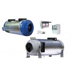 Rekuperator przemysłowy ścienny - Seria PRANA 340S/340S+