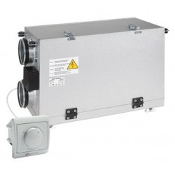 Nawiewno-wywiewna centrala wentylacyjna (rekuperator) z odzyskiem ciepła seria VUT H mini EC