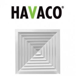 Anemostat kwadratowy - Havaco - Seria RA40