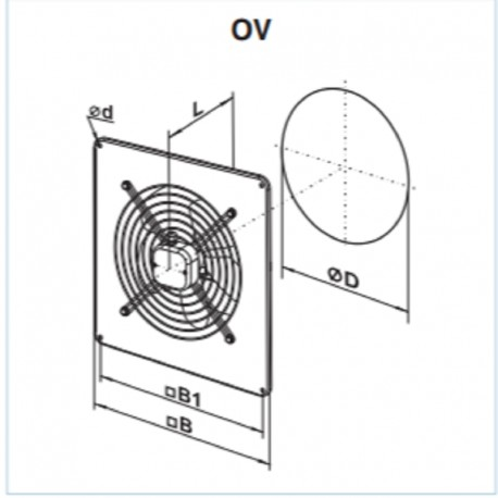 Vents OV 2E 200 • wentylator osiowy  • 860 m3/h • •PROFESJONALNA WYSYŁKA• BEZPIECZEŃSTWO ZAKUPÓW • INDYWIDUALNE RABATY W SKLE