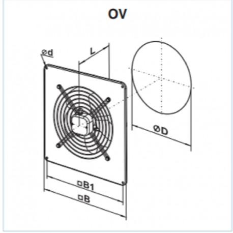 Vents OV 2E 300 • wentylator osiowy • 2230 m3/h • •PROFESJONALNA WYSYŁKA• BEZPIECZEŃSTWO ZAKUPÓW • INDYWIDUALNE RABATY W SKLE