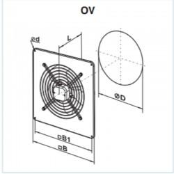 Vents OV 4E 450 • wentylator osiowy • 4680 m3/h • •PROFESJONALNA WYSYŁKA• BEZPIECZEŃSTWO ZAKUPÓW • INDYWIDUALNE RABATY W SKLE