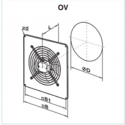 Vents OV 4E 550 • wentylator osiowy • 8800 m3/h  •PROFESJONALNA WYSYŁKA• BEZPIECZEŃSTWO ZAKUPÓW • INDYWIDUALNE RABATY W SKLEP