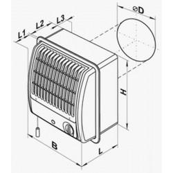 VENTS CF-100 • wentylator łazienkowy z turbiną • PROFESJONALNA WYSYŁKA • BEZPIECZEŃSTWO ZAKUPÓW • INDYWIDUALNE RABATY W SKLEP