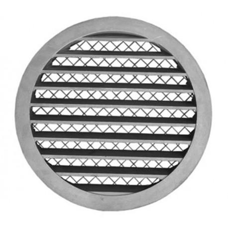 Czerpnia/wyrzutnia okrągła ścienna aluminiowa KWO