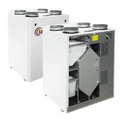 Rekuperator z nagrzewnicą elektryczną RIS VE EKO (pionowy)