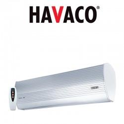 Kurtyny powietrzne HAVACO DELTA-E z nagrzewnicą elektryczną